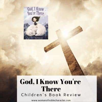 I Know You're There Children's Book Review 2