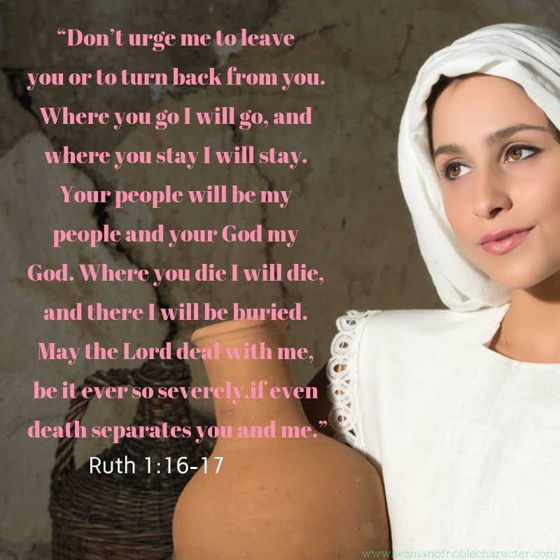 Ruth in the Bible Ruth 1_16-17