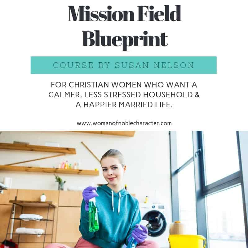 Your husband,family and home are your first mission field. Learn how to manage all while growing closer to God.