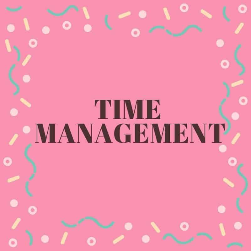 Productivity and time management for the Christian woman.