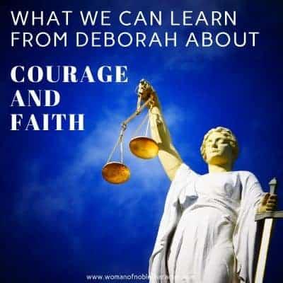 Deborah judge in the Bible