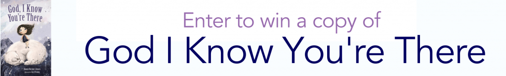 win a copy of God, I Know You're There by Bonnie Rickner Jensen
