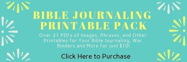 Bible Journaling Printable pack