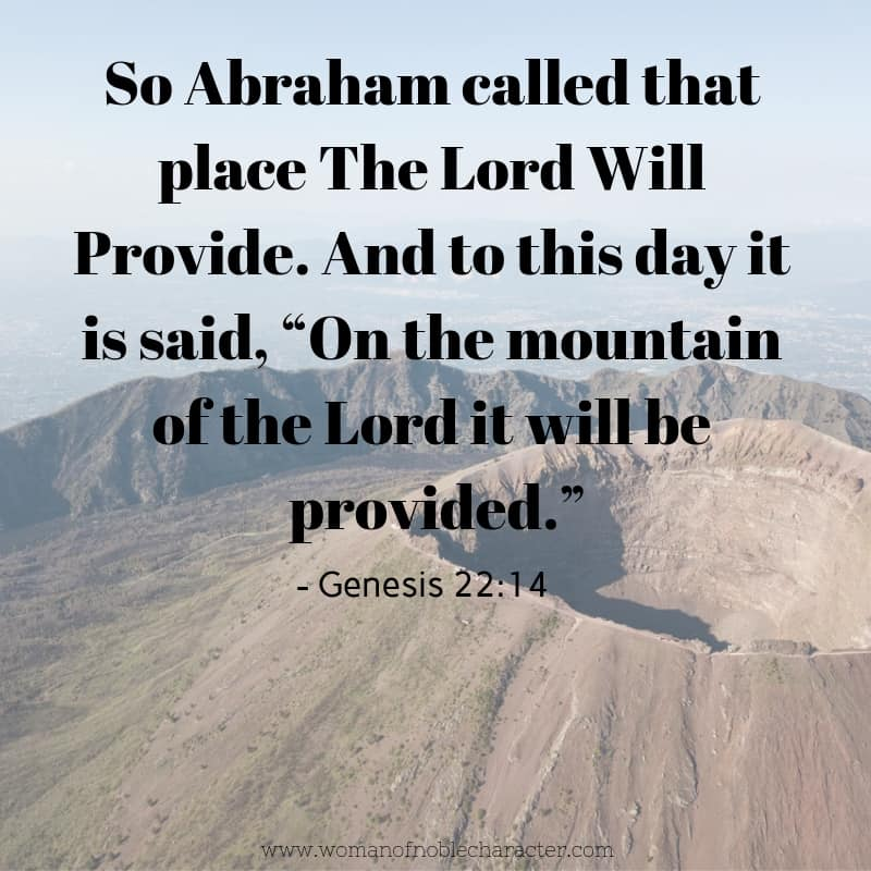 Jehovah Jireh praying the names of God