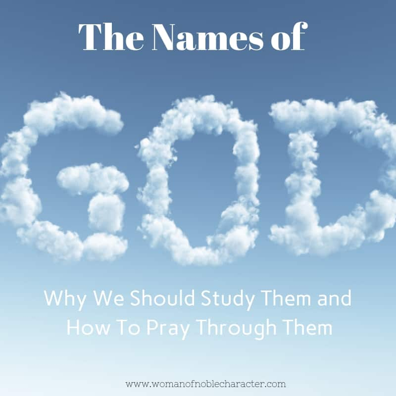 The Names of God and their meanings