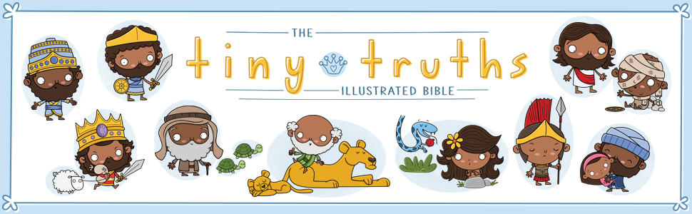 The Tiny Truths Illustrated Bible for kids review