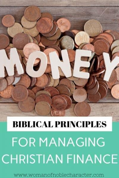 biblical principles for managing christian finance 12 tips