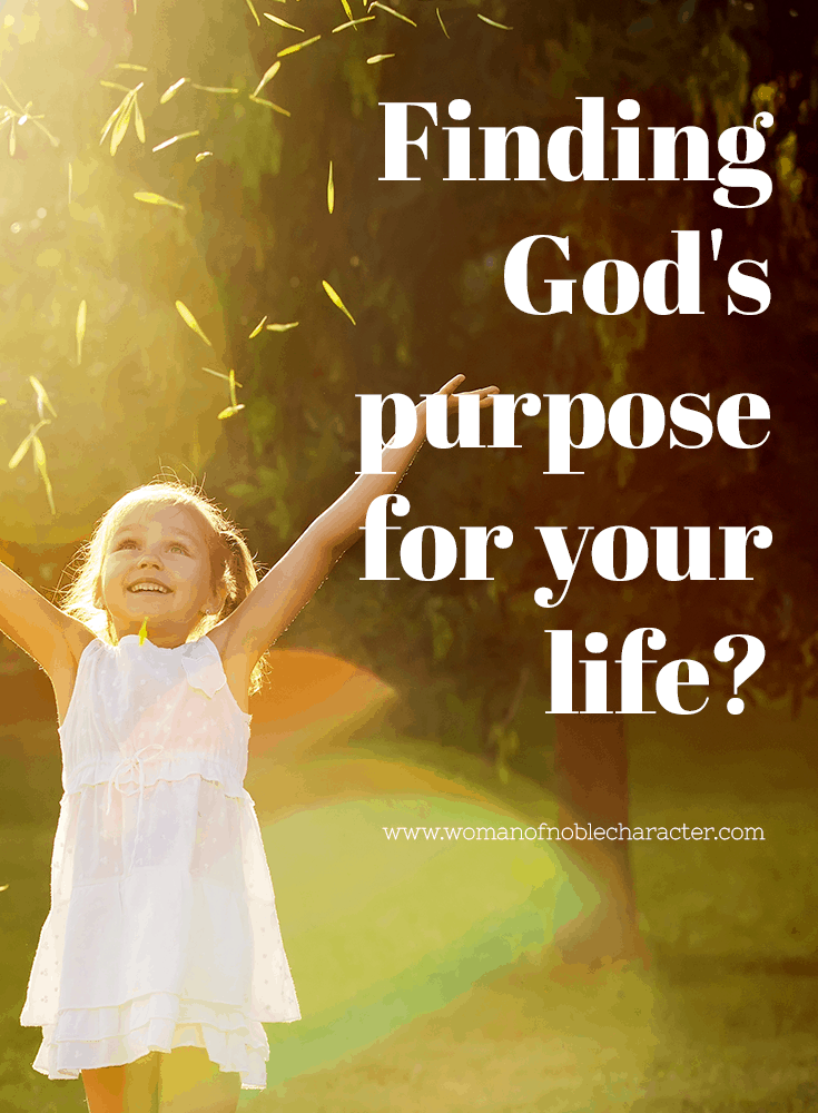 Finding God's purpose for your life