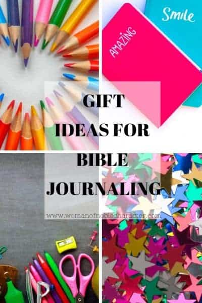 Gift Ideas for Bible Journaling