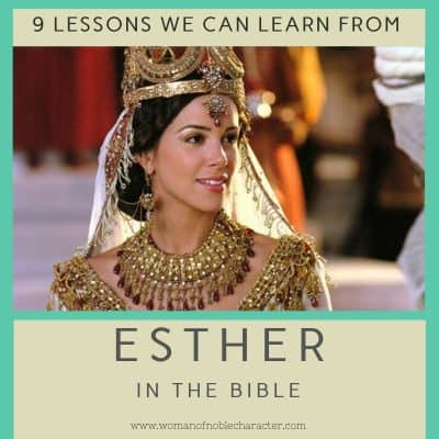 Esther in the Bible 9 lessons