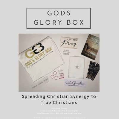 God's Glory Box Title and contents
