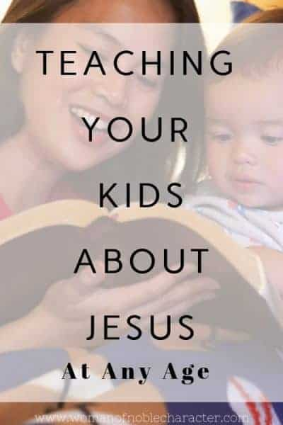 Teaching your kids about Jesus