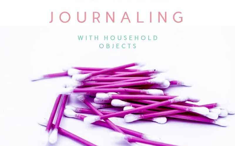 Techniques For Bible Journaling With Household Objects: Q Tips