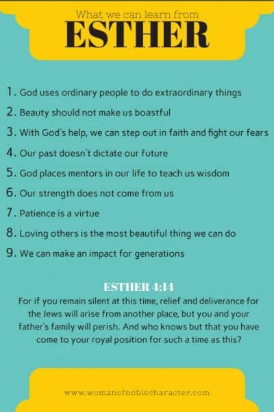 what we can learn from the book of Esther