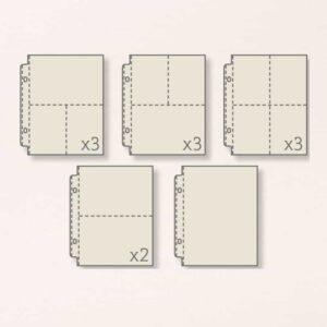 photo pockets for DIY Prayer journal