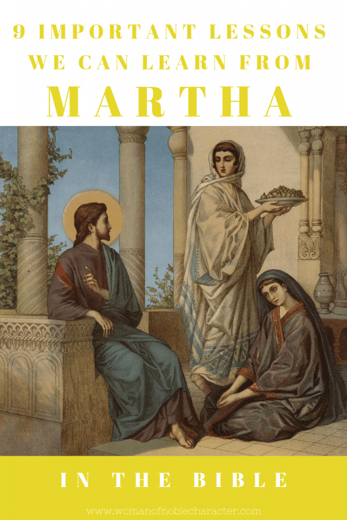 9 important lessons we can learn from Martha in the Bible