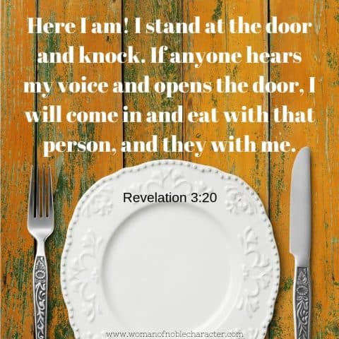 dinner as a family Revelation 3_20