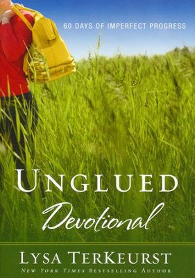 women's devotional Unglued by Lysa TerKeurst