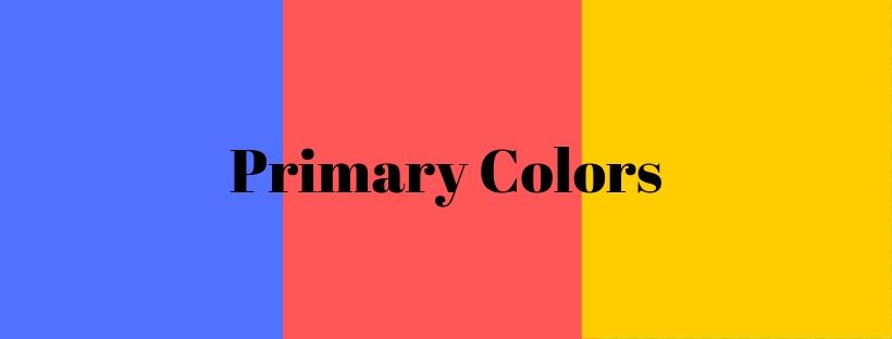 Primary Colors Color theory in Bible journaling