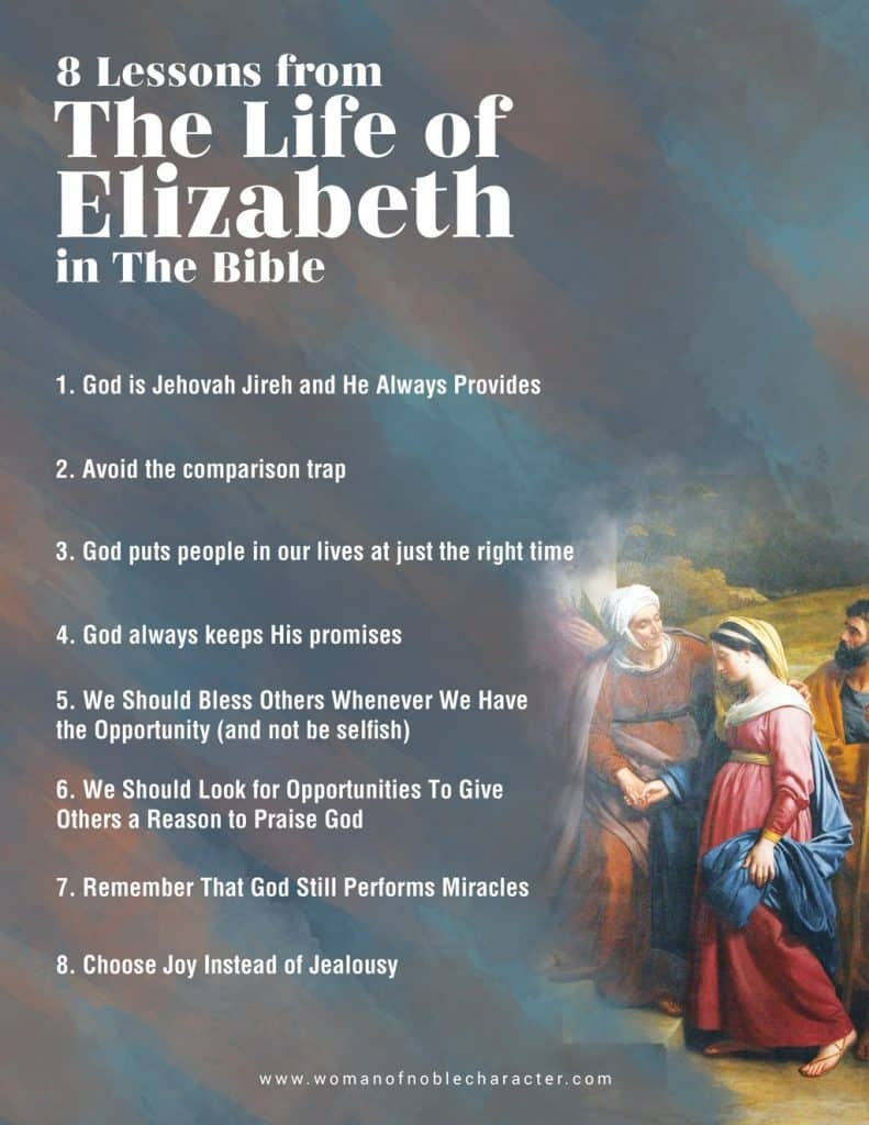 8 lessons we can learn from Elizabeth in the Bible