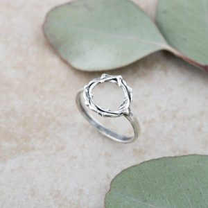 Holly Lane Christian Jewelry Crown of Thorns Ring