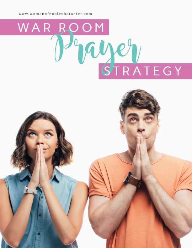 war room prayer strategy