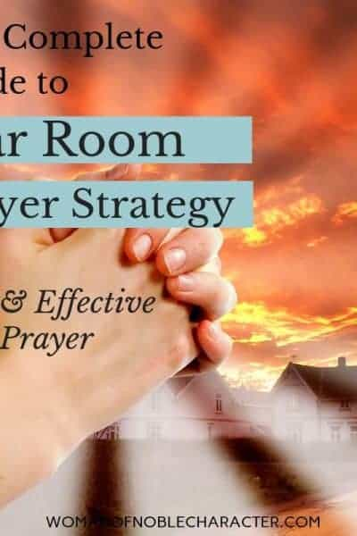 war room prayer strategy