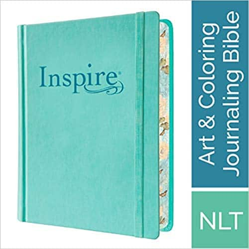 Tyndale NLT Inspire Bible, Coloring Bible with Creative Journal Space